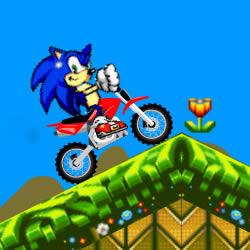 Sonic: Motorrad-Rennen