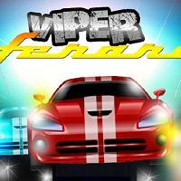 Rennen auf Viper Ferrari
