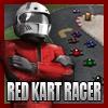Rot Rennfahrer