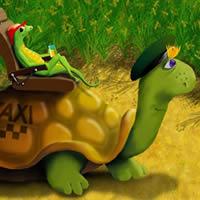 Schildkröte Taxi