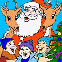 Weihnachtsmann Liedern