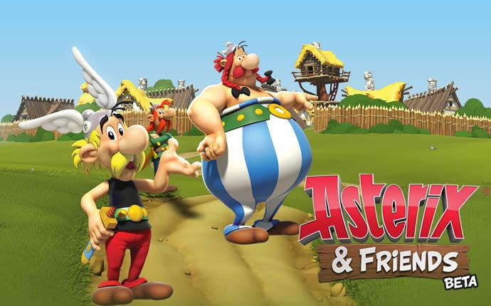 Asterix und Friends Browserspiel