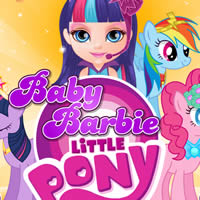 Baby Barbie My Little Pony