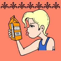 Vorsichtig, eine blonde!