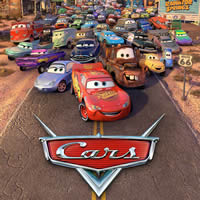 Cars - Interaktif Film Poster