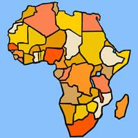 Erdkundeunterricht - Zentralafrika