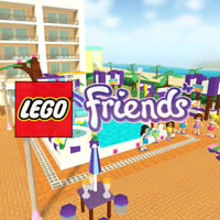 Lego Freunde: Pool-Party