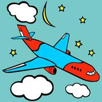 Malvorlagen von Flugzeugen