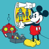 Micky Maus - Fabriksroboter