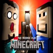 Minecraft. 2 Freunde