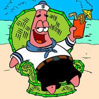 Patrick am Strand