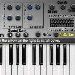 Virtuelle Klavier