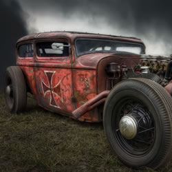 Retro Hot Rod