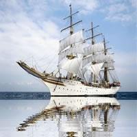 Segeln Fregatte