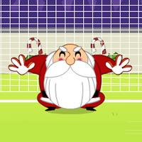 Weihnachtsmann Torwart