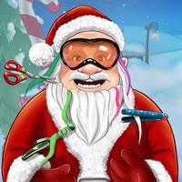 Weihnachtsmann Echte Haarschnitte