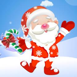 Lustige Weihnachtsmann