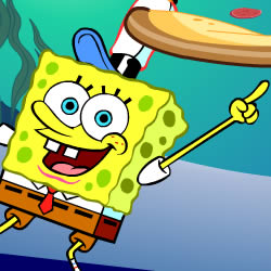 SpongeBob Pizza Toss