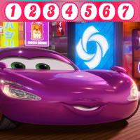 Cars 2: Versteckten Zahlen von Holley Shiftwell