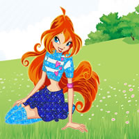 Winx - Bloom in der Natur