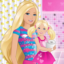 Barbie Babysitter: Potty Race
