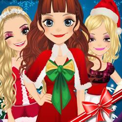 Weihnachten Mädchen