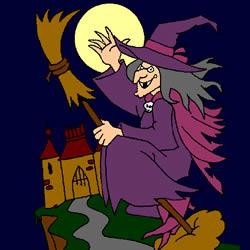 Die Hexe und die Burg