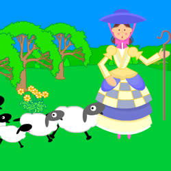 Teletubbies Little Bo Peep