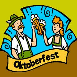 Oktoberfest Ausmalbild