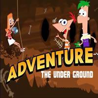 Phineas und Ferb Adventure The Under Ground