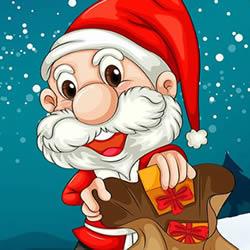 Weihnachtsmann Pac-Man